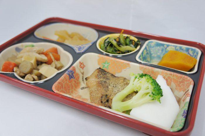 ヘルシー弁当(焼魚)